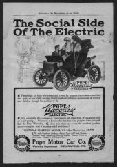 Old EV Advertisements: Pope Waverley Electric