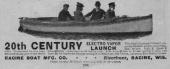 Old EV Advertisements: Racine Boat (Electro Vapor)