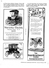 Old EV Advertisements: Waverly Electric Prices