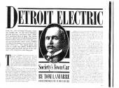 Detroit Electric: Article - who buys Detroit Electric Vehicles
