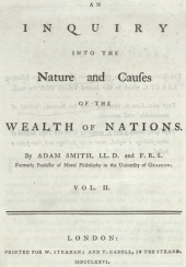 Adam Smith's Wealth of Nations (1776)