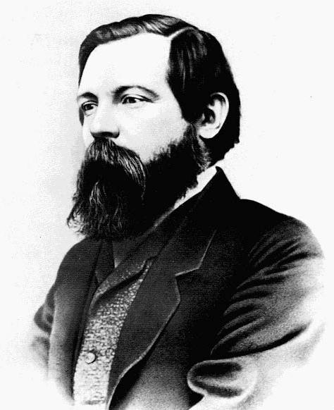 Friedrich Engels was a German Socialist philosopher born November 28, 1820, Barmen, Rhine Province, Prussia died August 5, 1895, London. He was the closest collaborator of Karl Marx in the foundation of modern Communism. They co-authored the Communist Manifesto (1848), and Engels edited the second and third volumes of Das Kapital after Marx's death.  Early life Engels grew up in the environment of a family marked by moderately liberal political views, a steadfast loyalty to Prussia, and a pronounced Protestant faith. His father was the owner of a textile factory in Barmen and also a partner in the Ermen & Engels cotton plant in Manchester, Eng. Even after Engels openly pursued the revolutionary goals that threatened the traditional values of the family, he usually could count on financial aid from home. The influence of his mother, to whom he was devoted, may have been a factor in preserving the tie between father and son.  Aside from such disciplinary actions as the father considered necessary in rearing a gifted but somewhat rebellious son, the only instance in which his father forced his will on Engels was in deciding upon a career for him. Engels did attend a Gymnasium (secondary school), but he dropped out a year before graduation, probably because his father felt that his plans for the future were too undefined. Engels showed some skill in writing poetry, but his father insisted that he go to work in the expanding business. Engels, accordingly, spent the next three years (1838–41) in Bremen acquiring practical business experience in the offices of an export firm. In Bremen, Engels began to show the capacity for living the double life that characterized his middle years. During regular hours, he operated effectively as a business apprentice. An outgoing person, he joined a choral society, frequented the famed Ratskeller, became an expert swimmer, and practiced fencing and riding (he outrode most Englishmen in the fox hunts). Engels also cultivated his capacity 