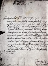 Galileo's Life, 1633: letter from Inquisition condemning Galileo