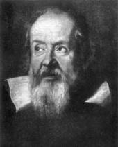 Galileo's portrait, 1636