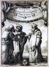 Aristotle, Ptolemy and Copernicus dialogue