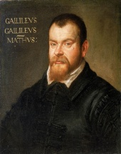 Galileo Galilei, by Domenico Robusti (July 1605)