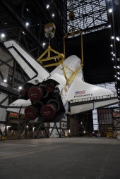 Discovery Gets a Lift
