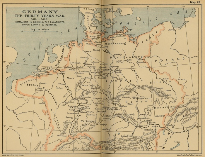 Germany: The Thirty Years' War,1619-1629. Campaigns in Bohemia, the Palatinate, Lower Saxony & DenmarkThe Thirty Years' War - First Phase