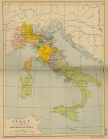 Italy at the end of the Sixteenth Century