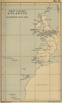 Northeastern Atlantic and Elizabethan Naval Wars