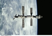 13. ISS seen following its undocking with the Space Shuttle Atlantis.