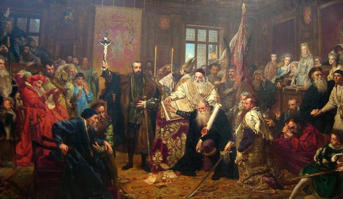 Painting: Jan Matejko (1838-1893), Muzeum Lubelskie