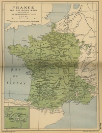 France - Religious Wars: Vicinity of Paris (1562)