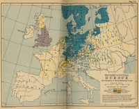Western, Central Europe: Reformation Growth (1560)