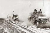 Six Day War: Israeli troops in Sinai