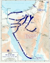 Six Day War: Conquest of Sinai. June 7-June 8 1967
