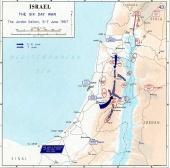 Six Day War: The Jordan salient. June 5-7