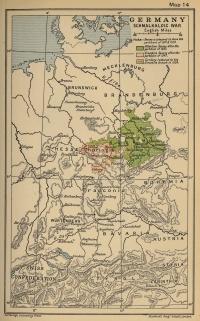 Germany. The Schmalkaldic War (1547-1554)