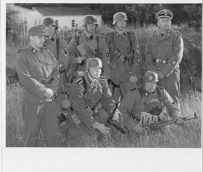 Second Battle Group Soldiers from the production of