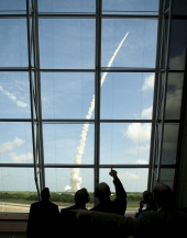 Ares I-X Launch, October 28, 2009: Up, Up, and Away!