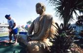 Buddha statue in Biloxi, Mississippi