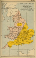 England and Wales at the Outbreak of The Civil War