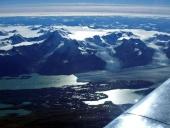 The Upsala Glacier is a large valley glacier in Argentina's Los Glaciares National Park