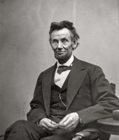 Last portrait of Abraham Lincoln (April 10, 1865)