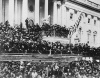 Abraham Lincoln Photographed Reading His Second Inaugural Address