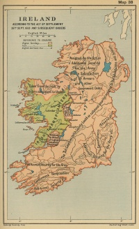 Ireland According to Act of Settlement, 26Sep 1653