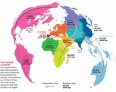 Map of The Genetic Human Journey