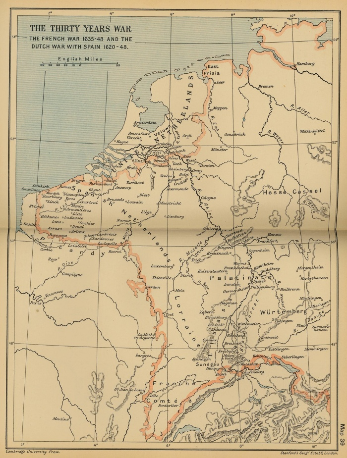 The Thirty Years' War: The French War 1635-48 and the Dutch War with Spain 1620-48