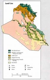 Map of Iraq land use