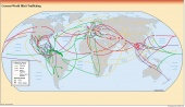 Illicit Trafficking Routes - 2000