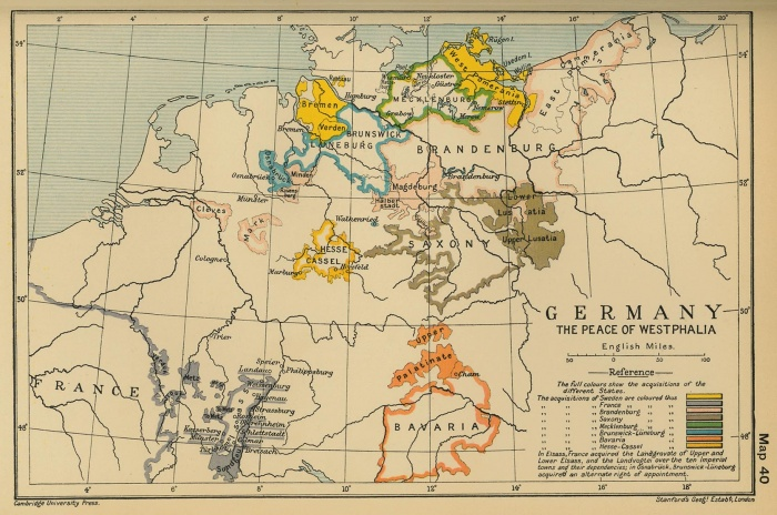 The Effects of The Thirty Years' War - Germany