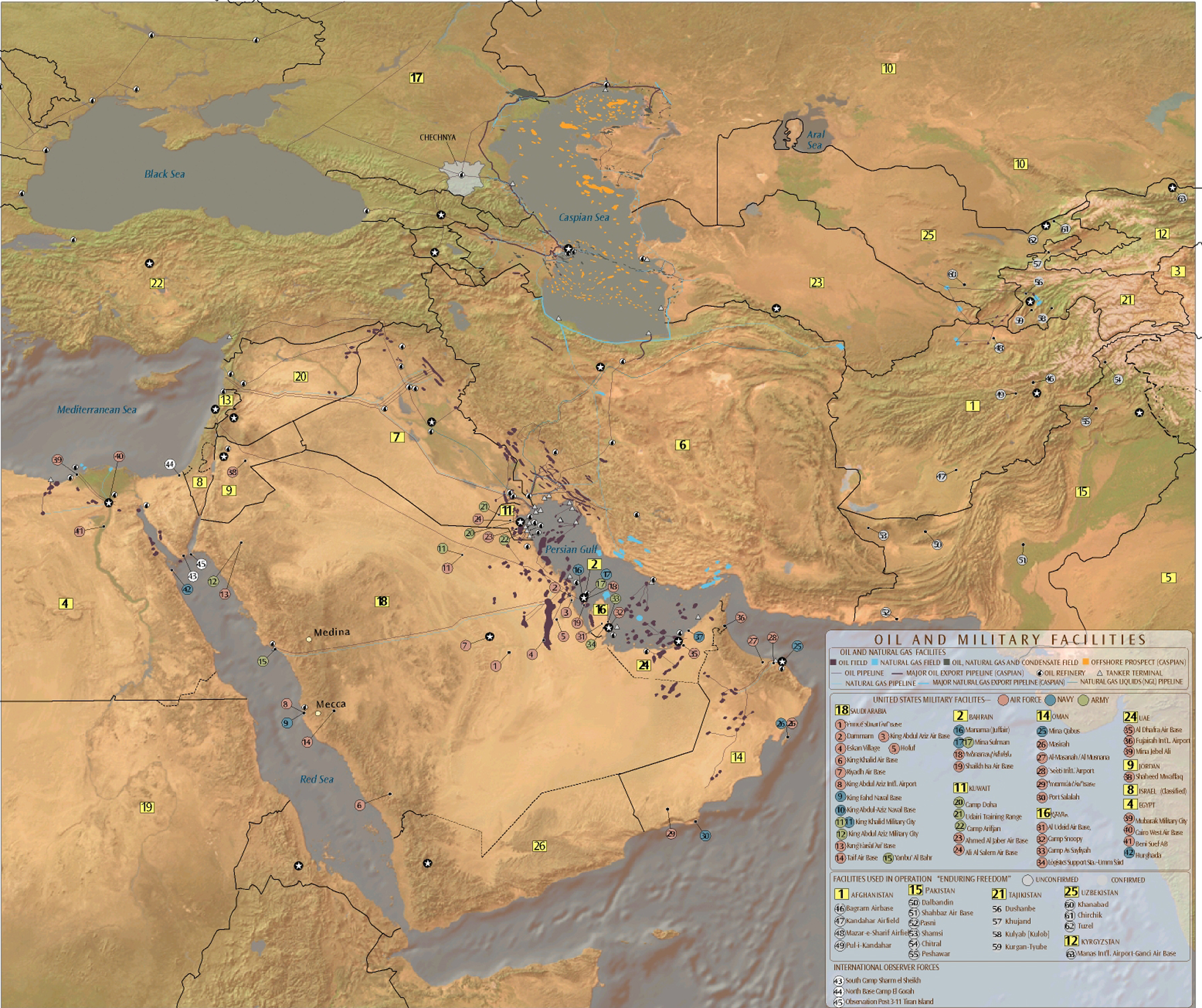 The Middle East Petroleum Systems Map