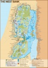 West Bank Map, 2003