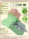 Iraq Demographics - Religious & Ethnic Regions, and Population Density in Iraq