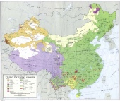 Communist China Ethnolinguistic Groups (1967)