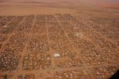 Abu Shouk settlement in El Fasher, Northern Darfur