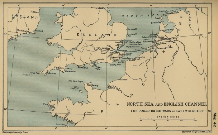 North Sea and English Channel: The Anglo-Dutch Wars of the 17th Century ALGLO-DUTCH WARS