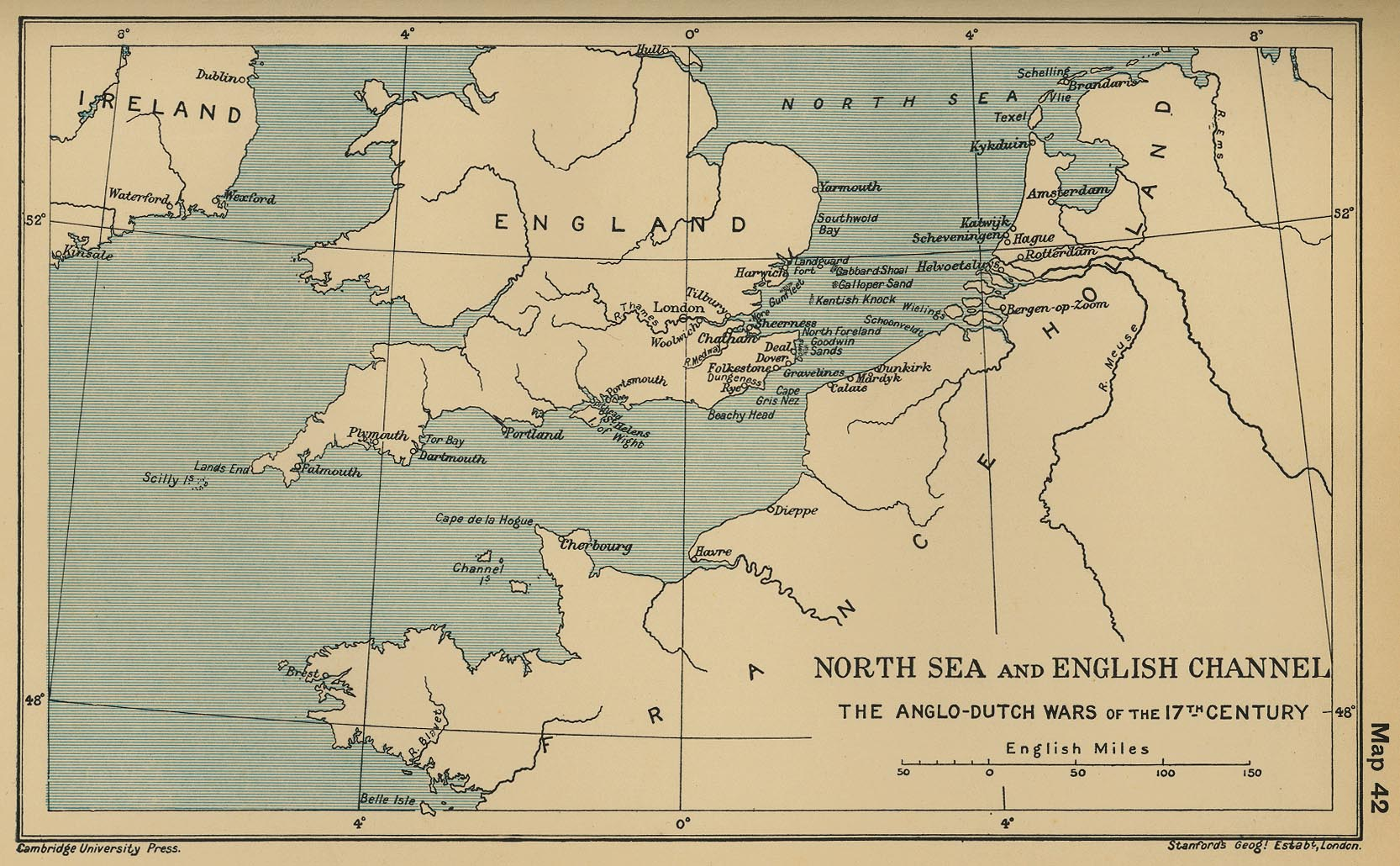 English Channel AngloDutch Wars 17th Century CosmoLearning History