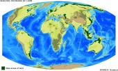 Oceans to fall, not rise, over millions of years