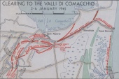 Clearing to the Valli Di Comacchio - 2-6 January 1945