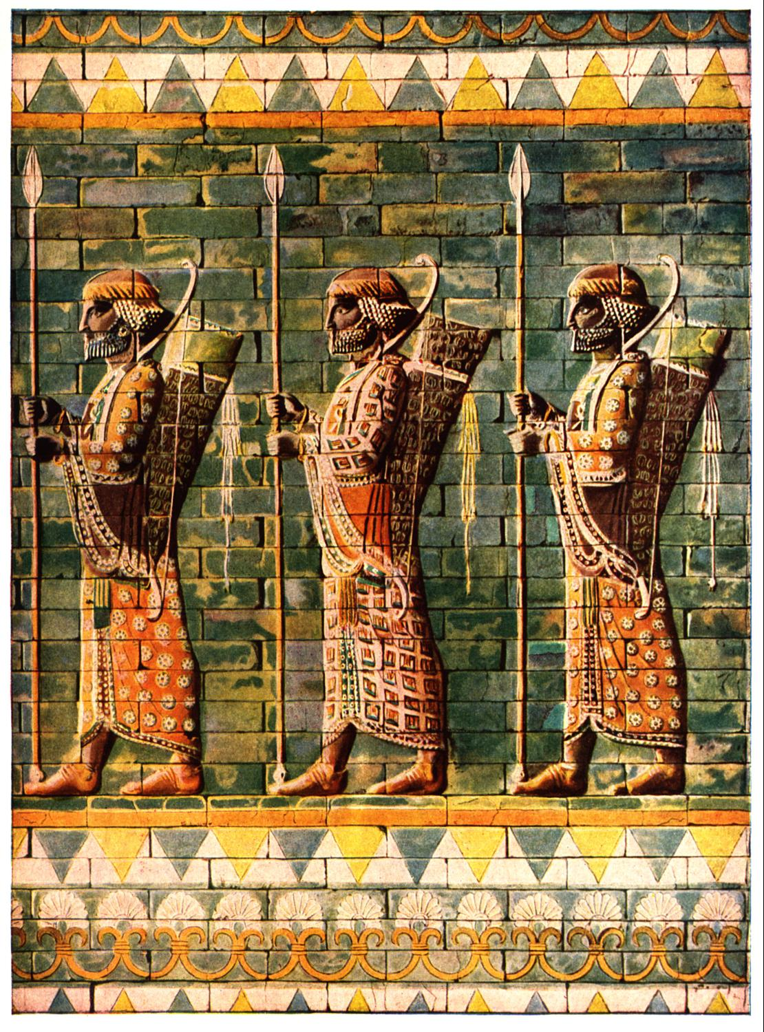 The Immortals of Persian King Darius | CosmoLearning History