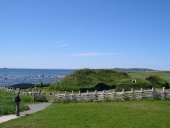 Viking colonization site at L'Anse-aux-Meadows, Newfoundland, Canada
