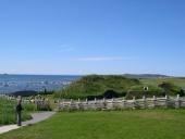 Viking colonization site at L'Anse-aux-Meadows, Newfoundland, Canada