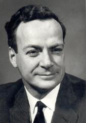Richard P. Feynman (1918-88): Photo by Harvey of Pasadena