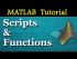 Working With Files: Script & Functions