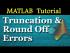 Truncation and Roundoff Errors